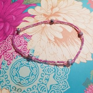 Jewelry - Glass beaded ankle braclet
